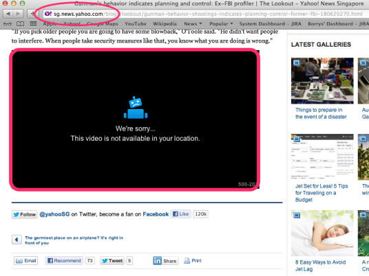 Yahoo News - Video is Not Available
