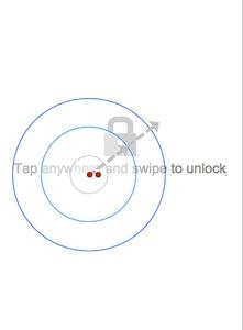 Snapshot of Swipe to Unlock