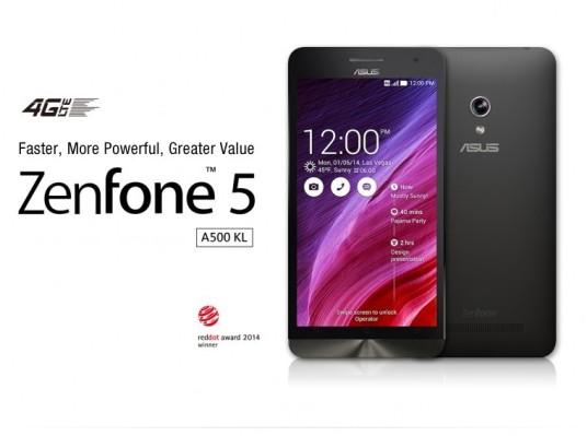 Asus Zen 5 LTE Ad